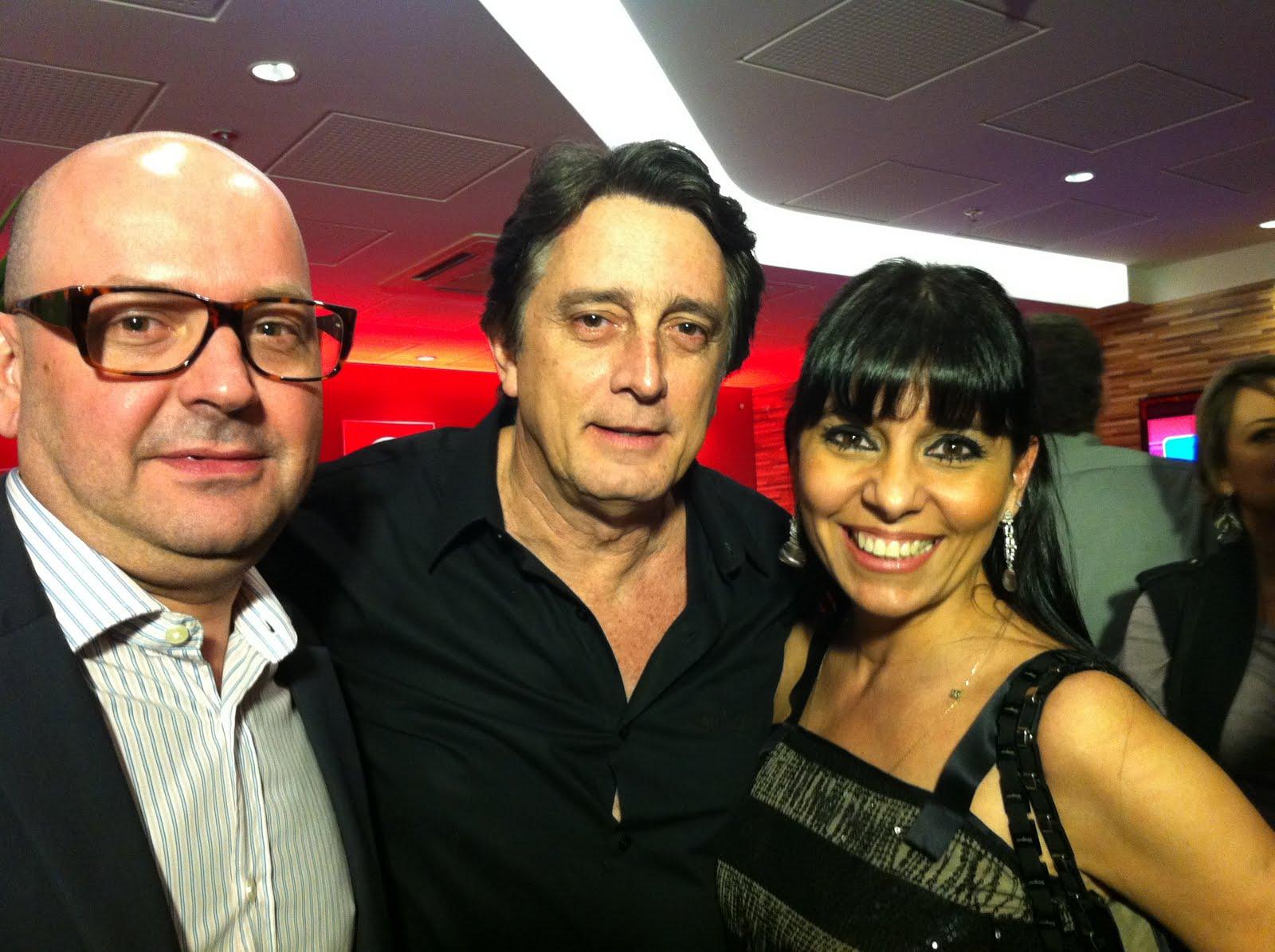 Francisco , Eduardo Galvão e Deborah Ventura