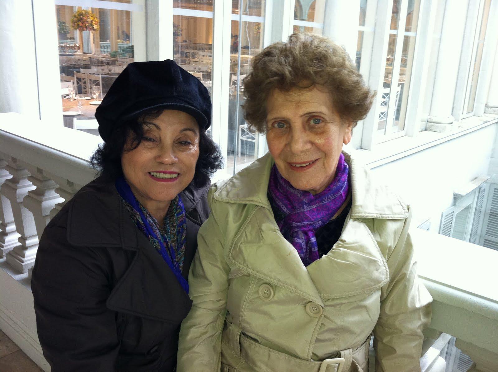 Nair e Irene Barros