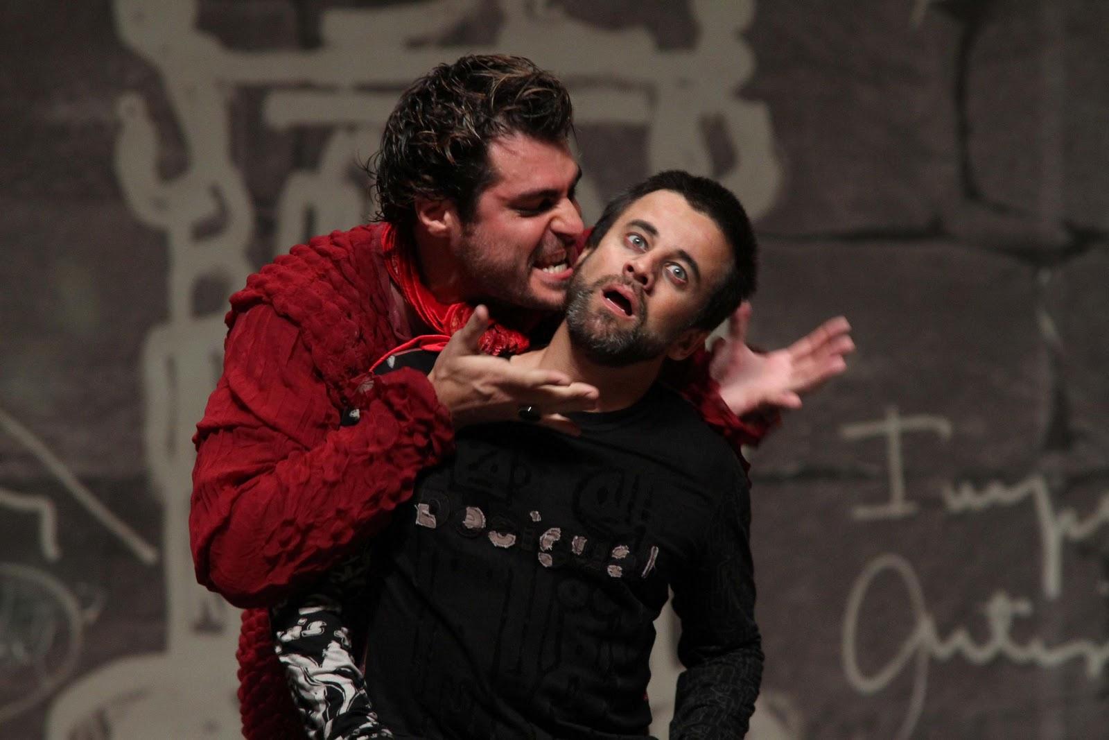 Thiago Lacerda e Cláudio Fontana
