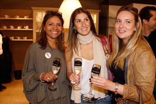 Luana Mattos, Maria Fernanda Piti Côrrea e Daniela Colnaghi