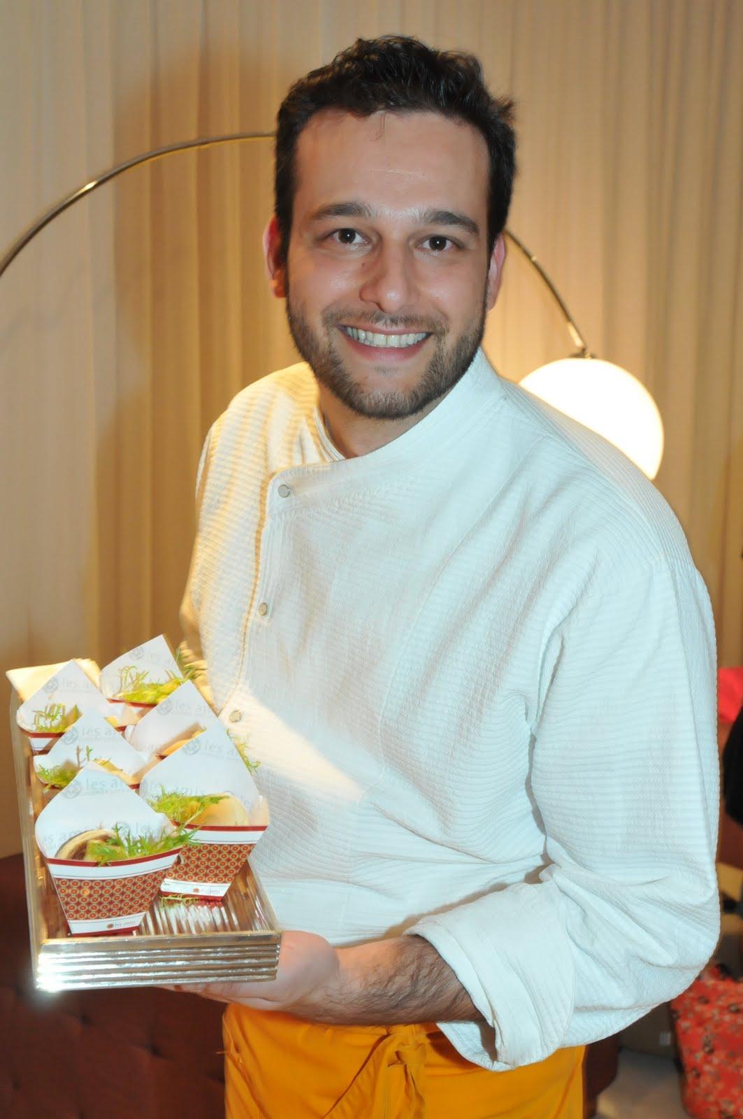 MATERIA_ Chef do Les Amis Demian Figueredo assinou o cardapio do Lounge da OI