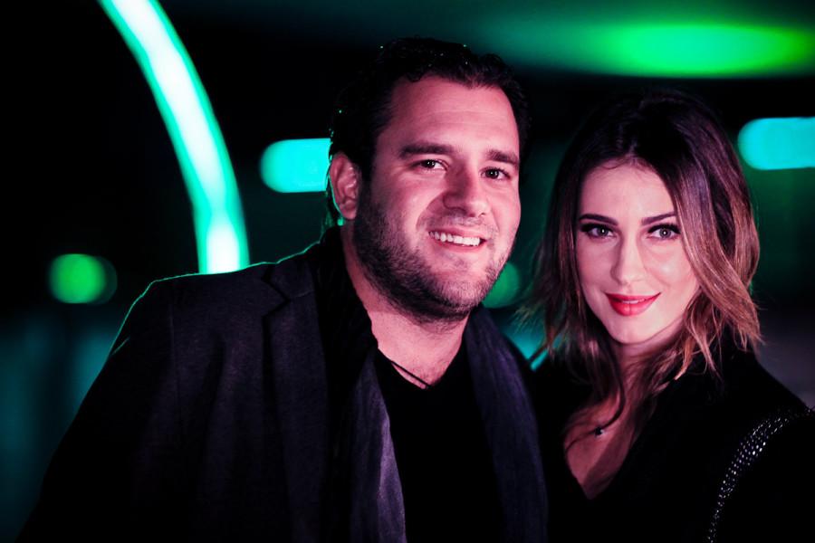 Bruno Setubal e Mia Borges
