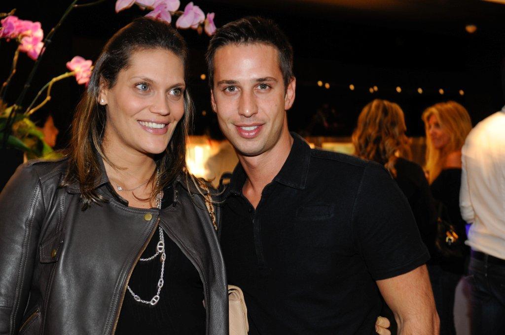 Sharon Duek e Caio Fisher