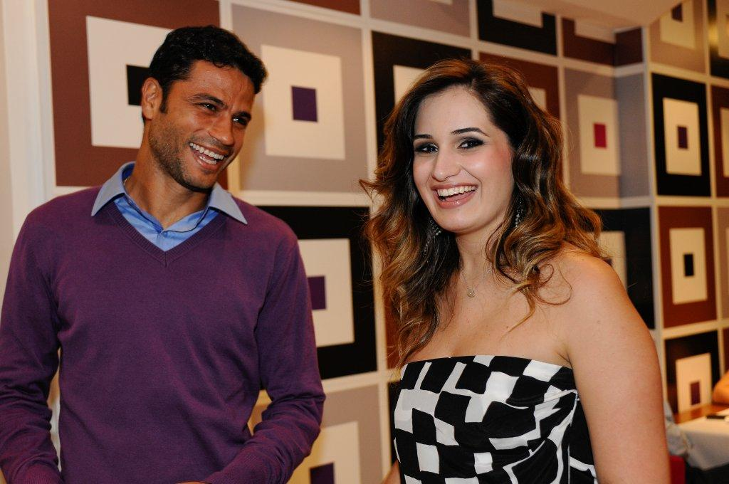 Willian Oliveira e Tais Taliberti
