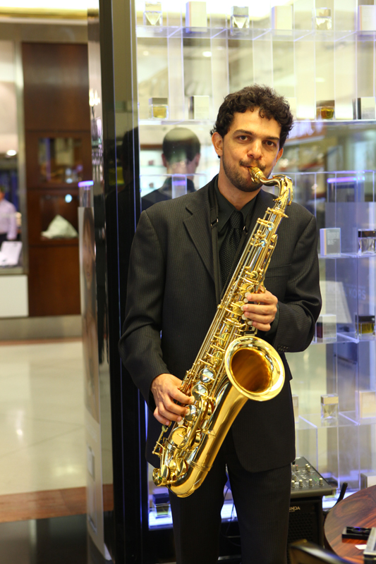 Blues e jazz dentro da Calèche do Shopping Iguatemi