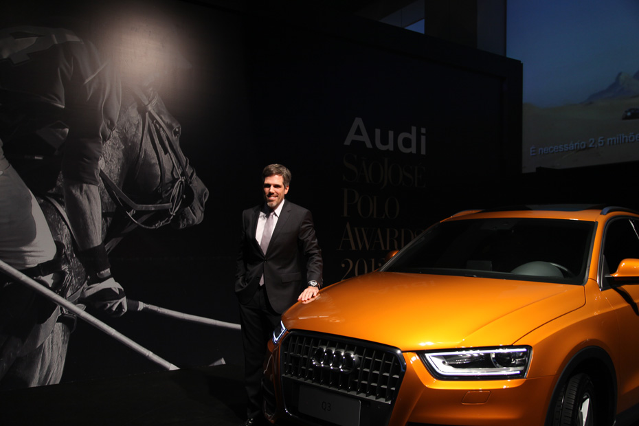 Presidente da Audi do Brasil, Paulo Kakinoff