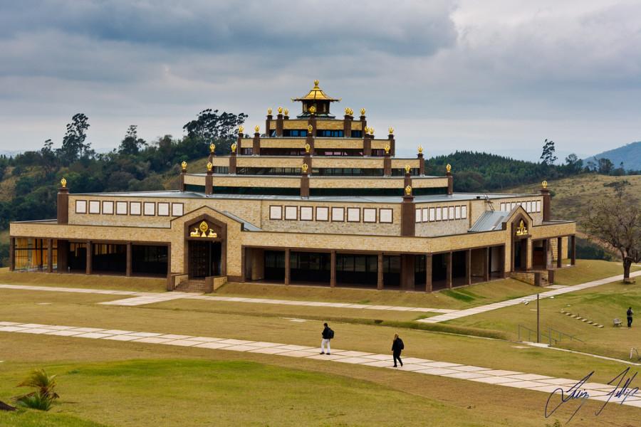 Templo Kadampa   Divulgação