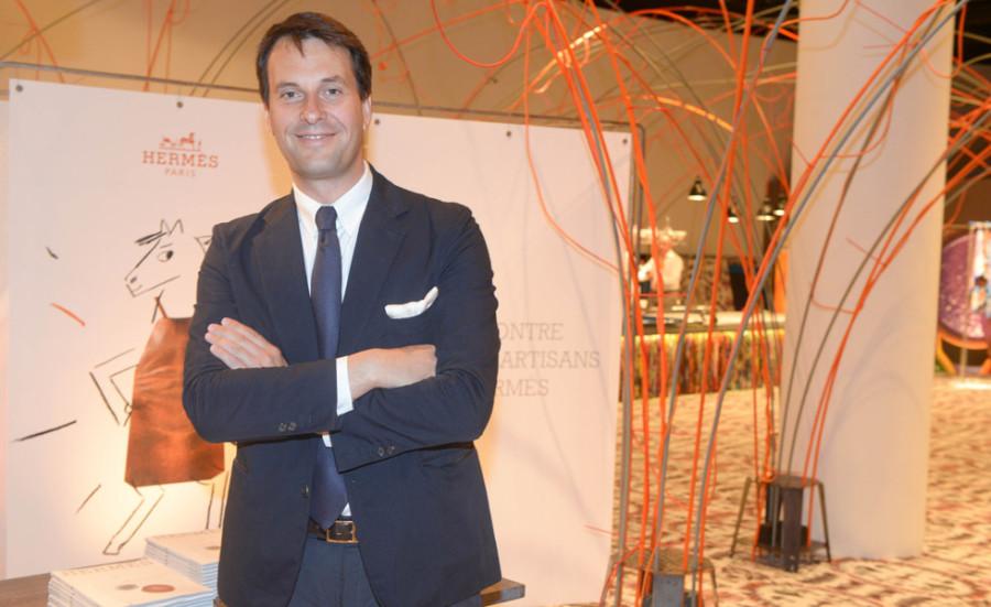 Florian Craen, vice-presidente executivo da Hermès | Divulgação