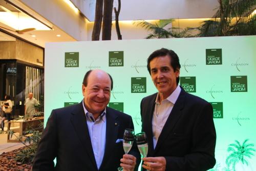 Davide Marcovitch e Sergio Degese (Foto: Divulgação)