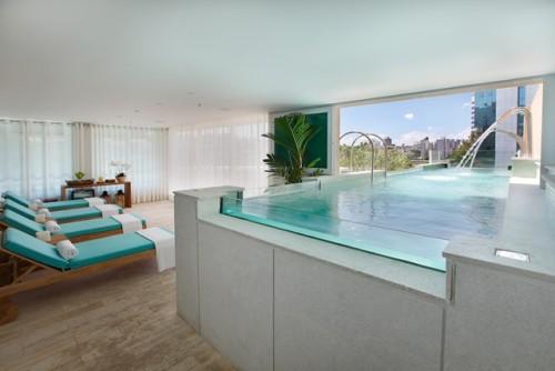 Spa oferece área relaxant para o pós-banho| Foto: Divulgação