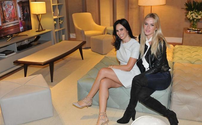 Silvana Lara Nogueira e Fiorella Mattheis