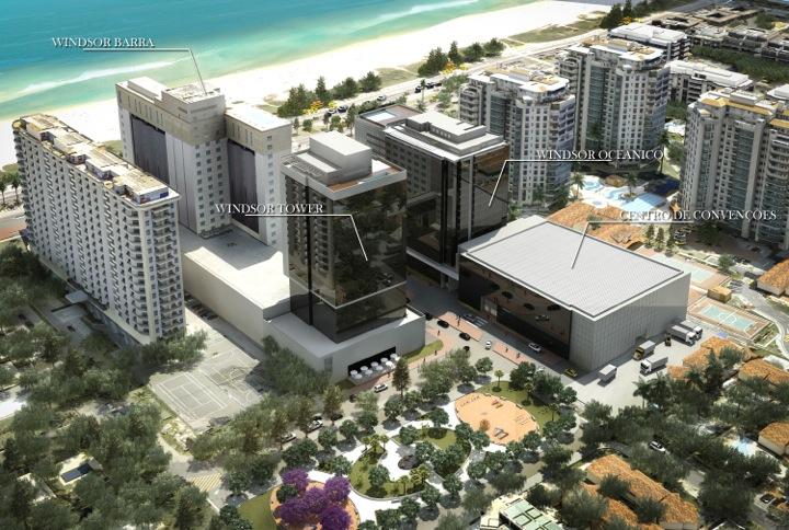 Complexo Windsor Barra e Centro de Convenções | Divulgação