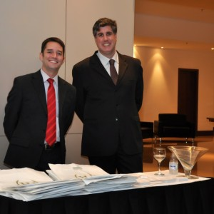 Diego Lopes e Alexandre Minconi Empresa Windsor Hoteis.