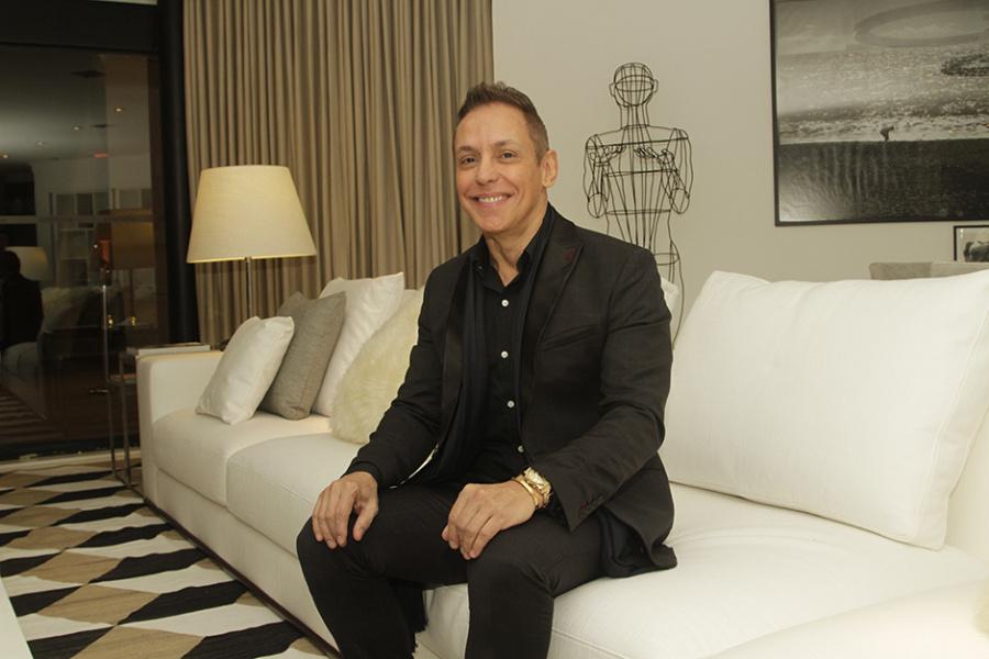 Francisco Calio projetou espaço para a familia