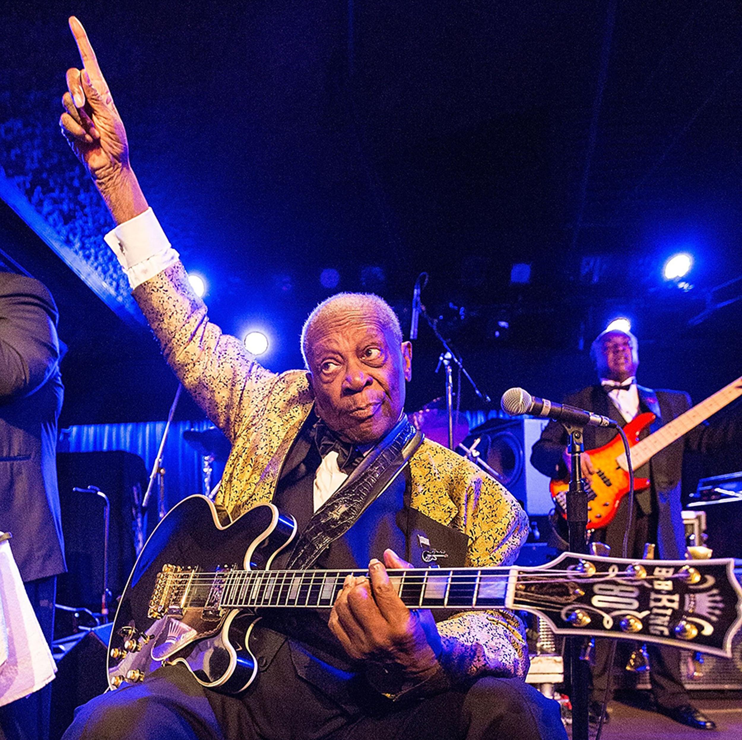 BB King morreu enquanto dormia em sua casa, em Las Vegas  Foto: Getty Images
