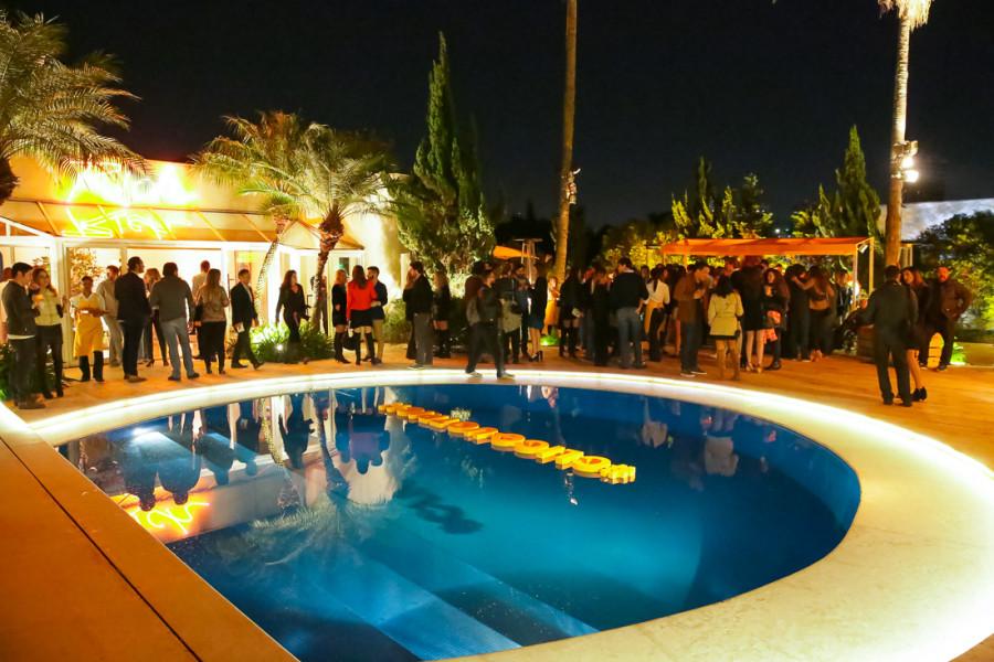 Festa Sunset Veuve Clicquot Rich acontece em uma mansão no Morumbi (Foto: Reprodução)