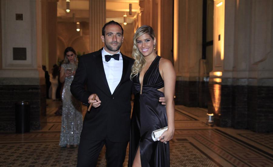 Daniel Nasser e Mariana Galo