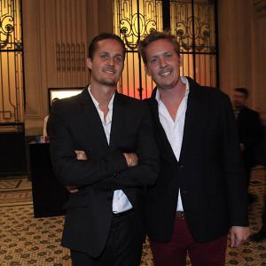 Max e Dimitri Mussard, herdeiro da grife Hermes (Foto: Divulgação)