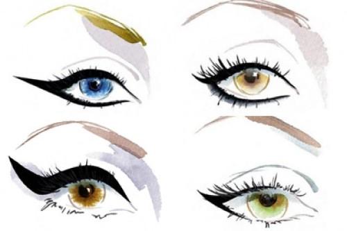 Traços devem ser diferentes para cada tipo de olho   Reprodução