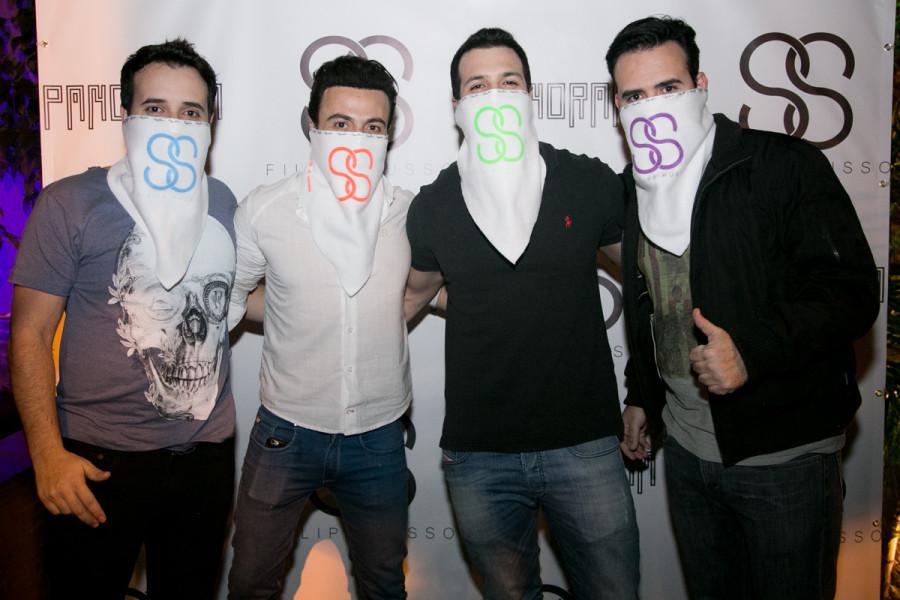 Gabriel Castilho, Filipe Russo, Gustavo Meza e Fernando Castilho (Foto: Reprodução)