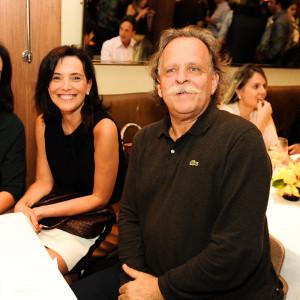 Betina Samaia, Andrea Pinheiro e Claudio Edinger (Foto: Reprodução)