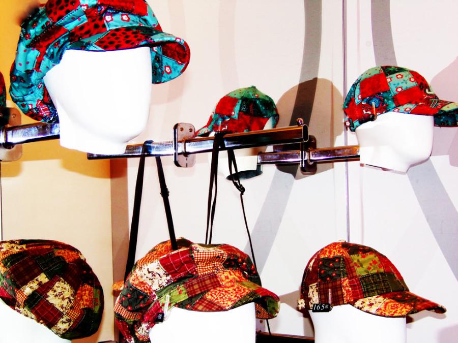 A marca ainda traz uma parte destinada apenas a chapéus (Foto: Nair Barros - ClaCrideias)