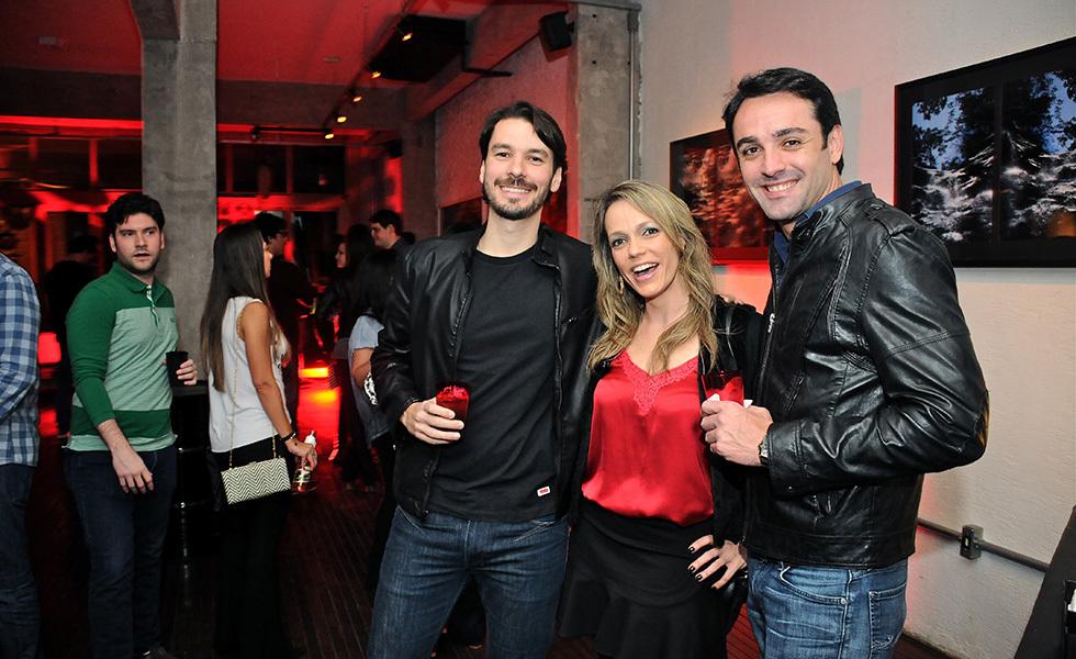 Brunello Jr, Ludimila Lepri e Fauso Alexandre Foto: Reprodução