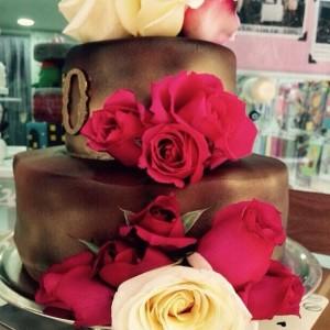 Detalhes do bolo de marina