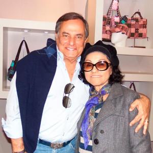 Ronnie Von e a fotógrafa Nair Barros (Foto: ClaCrideias)
