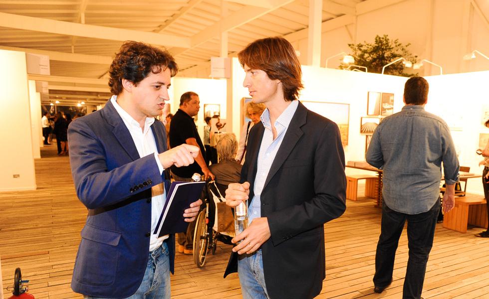 Carlos Jereissati Filho e Jacopo Crivelli l