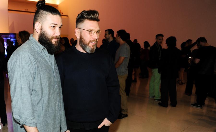 Fabio Souza e Alexandre Herchcovitch (foto: divulgação)