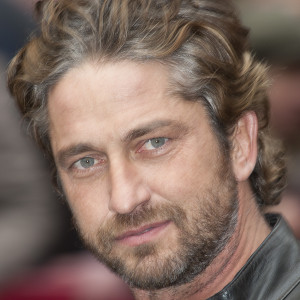 Gerard Butler at the press conference for the film Coriolanus