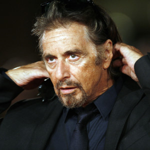 U.S. actor and director Pacino gestures on red carpet as he arrives for his movie Chinese Coffee at Rome's Film Festival