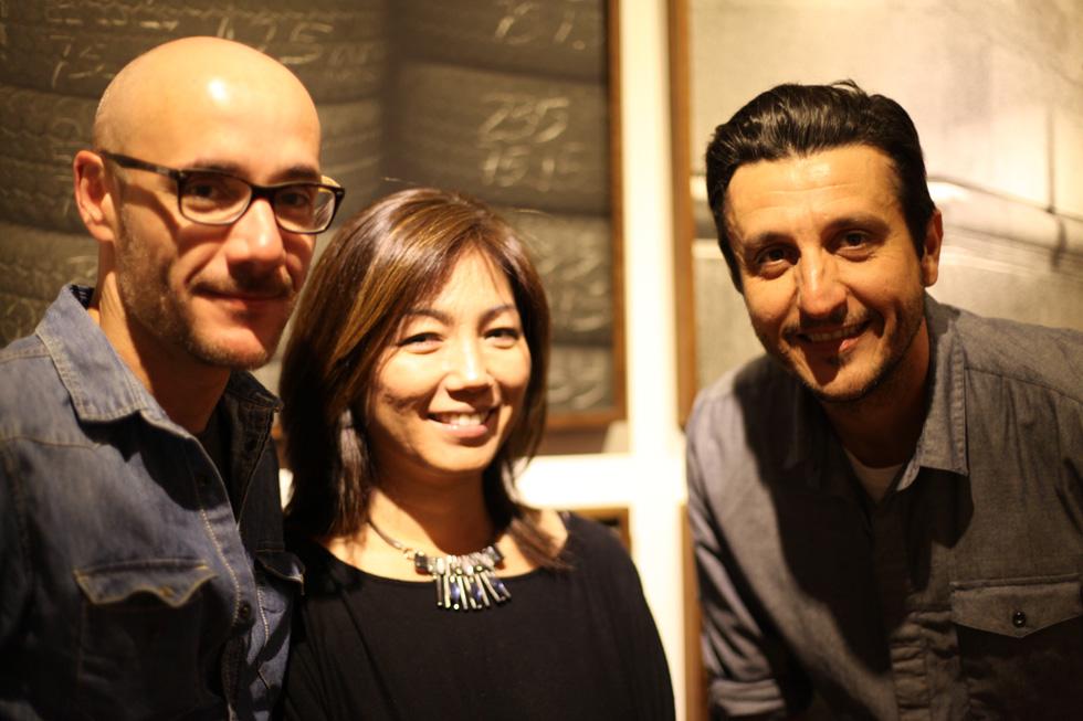 Marcus Vinicius, Claudia Kunitomo e Brunel Galhego Ricci Clacrideias Foto: Nair Barros