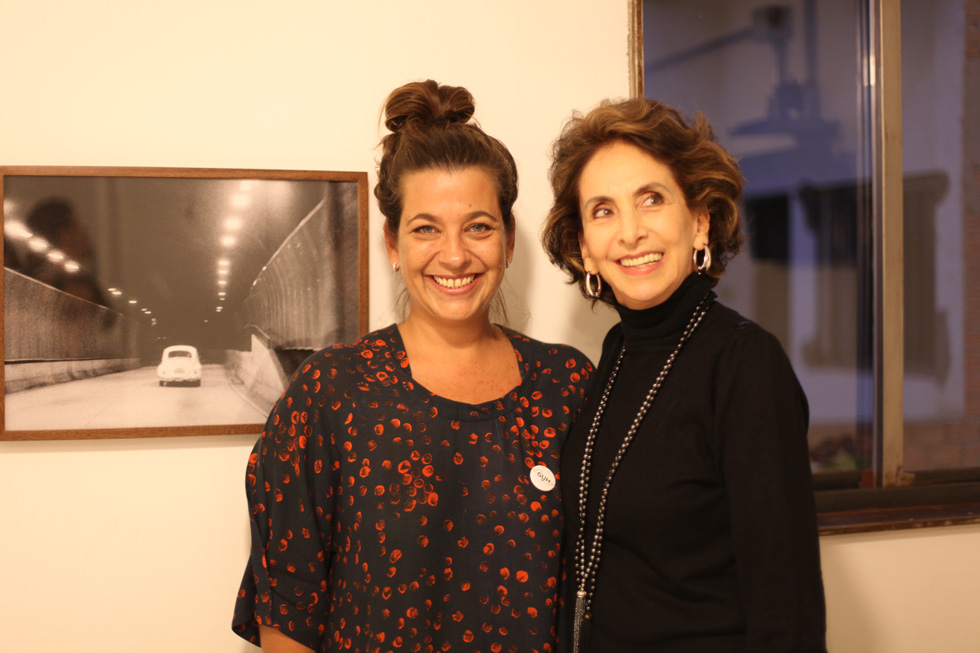 Marina Prado e Linda Micales Foto: Nair Barros