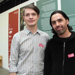 Deni Mayrink e Thiago Honório