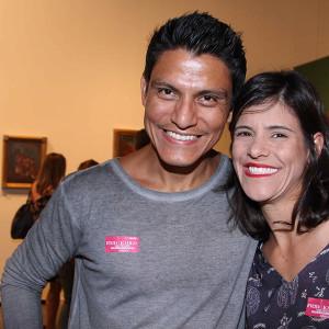 Hugo Cabrera e Paula Manso