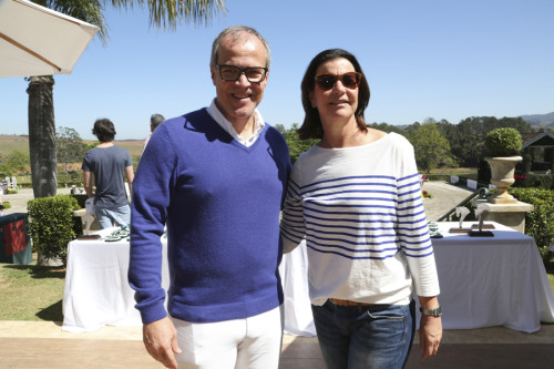 José Vicente Marino e Patrícia Carvalho. FOTO: Divulgação