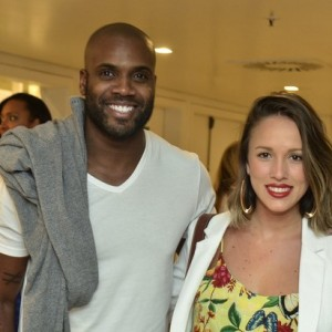 Rafael Zulu e a namorada Erys Martins