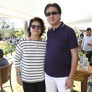 Vêronica e José Tariki. FOTO: Divulgação