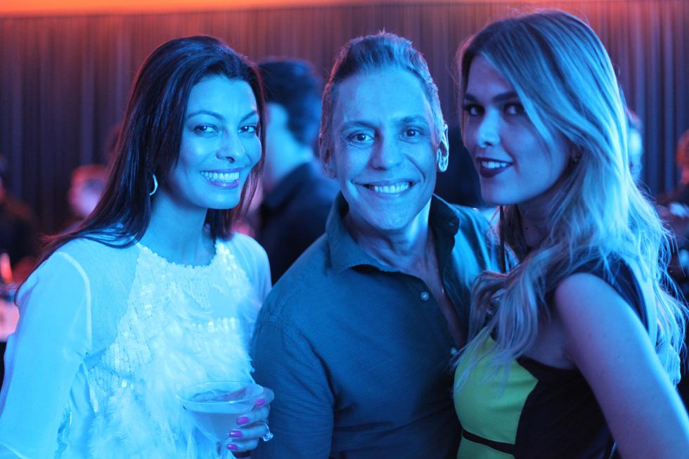 Adriana Reis, Francisco Calio e Ticiane Cipriano Foto Claudia Cristina / ClaCrideias