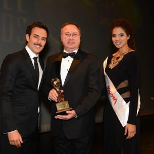 Saint Andrews Gramado vencedor na categoria melhor hotel romântico (Foto: ClaCrideias no World Travel Awards)
