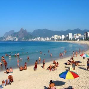 Ipanema Beach - RJ (Foto: Reprodução)