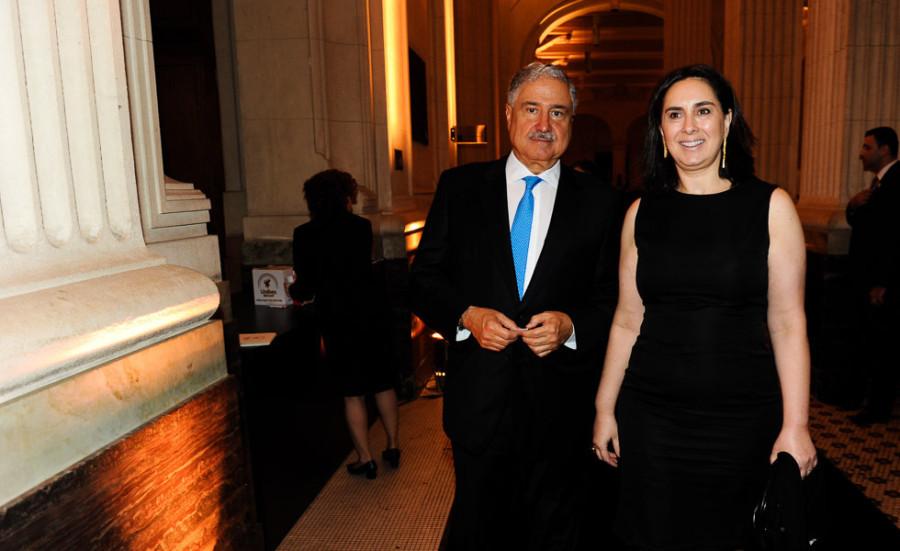 Claudia e Johnny Saad