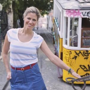 Didi Wagner viaja para Portugal na série Lugar Incomum (Foto: Reprodução)