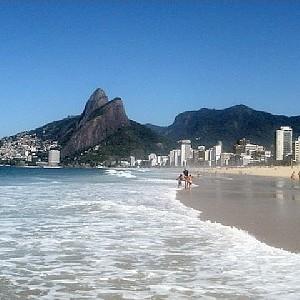 Ipanema no Rio (Foto: Reprodução)