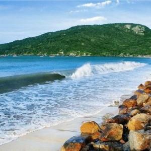 Praia dos ingleses (Foto: Reprodução)