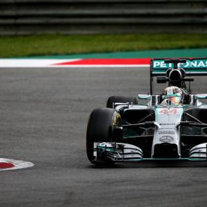 Lewis Hamilton em 2014 (Foto: Reprodução)