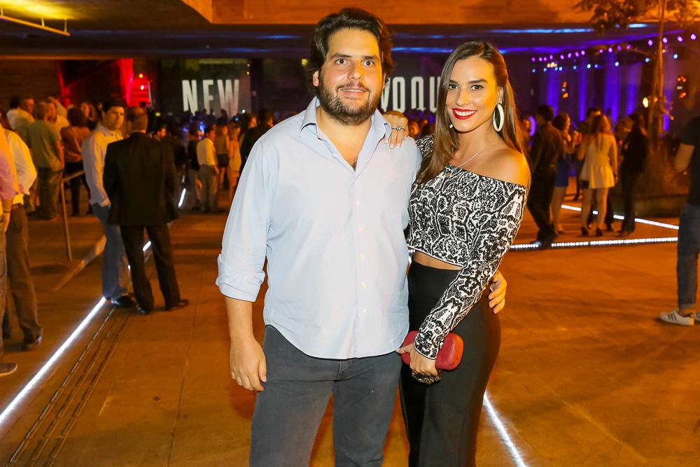 Fabio Tutundjian, sócio da We Clap e Carolina Raucci (Foto: Divulgação)