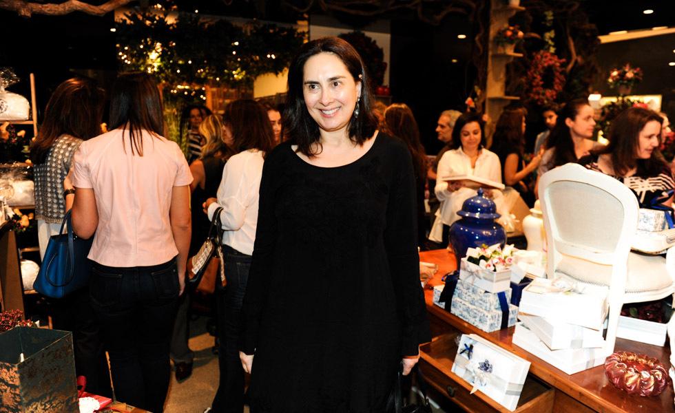 Claudia Saad, visita a nova loja do Iguatemi (Foto: Divulgação)